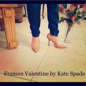 🌹Authentic Frances Valentine by Kate Spade heels